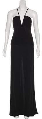 Gianni Versace Silk Evening Dress