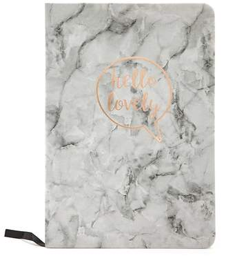 Forever 21 Hello Lovely Graphic Marble Notebook
