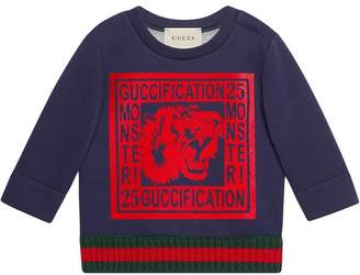 Gucci Kids Guccification Monster sweatshirt