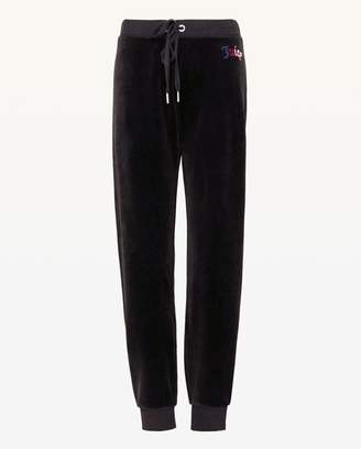 Juicy Couture Mixed Gothic Juicy Velour Zuma Pant