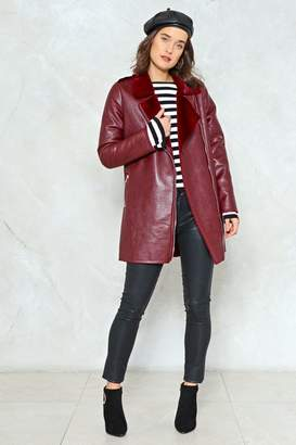 Nasty Gal Fur Good Measure Faux Fur Jacket