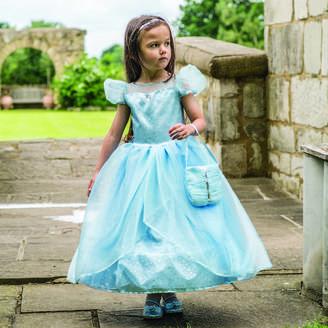 Time To Dress Up Girl's Blue Shimmer Princess Dress