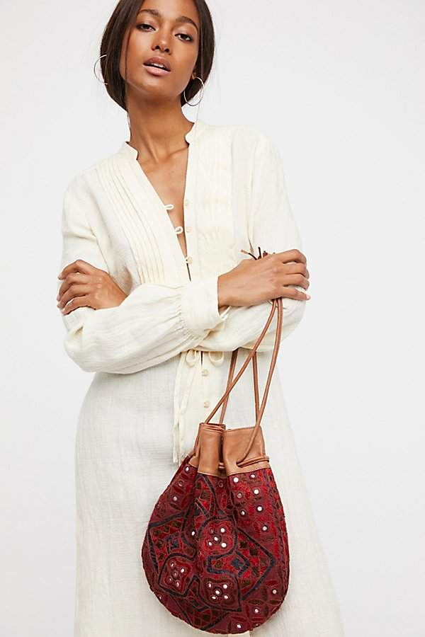 Majorca Embroidered Pouch by Free People