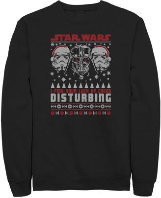Star Wars Licensed Character Men's Dark Side Sweatshirt