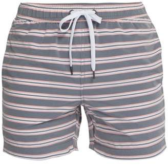 eeae303ad5cd3 Onia Charles Striped Swim Shorts - Mens - Light Orange
