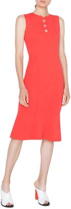 Akris Punto Scallop Cutout Dress