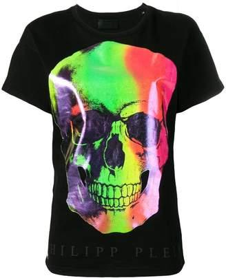 40fc445a1 Philipp Plein multicoloured skull print T-shirt