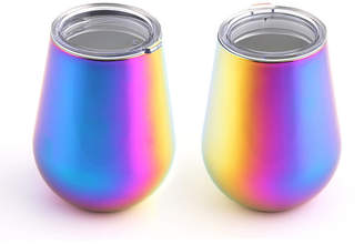 Thirstystone 14oz Double Wall Stemless Wine Tumblers - Set of 2