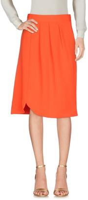 ALEX VIDAL Knee length skirts - Item 35356739BC