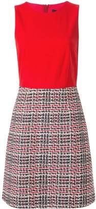 Paule Ka contrast fitted dress