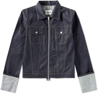 Helmut Lang 2004 Re-Edition Zip Denim Jacket