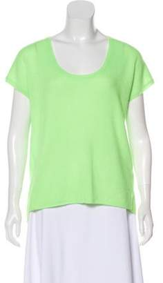 360 Cashmere Cashmere Sleeveless Sweater Lime Cashmere Sleeveless Sweater