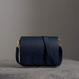 Burberry The Large Square Satchel in Leather