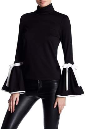 TOV Long Bell Sleeve Blouse $76 thestylecure.com