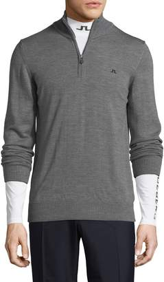 J. Lindeberg Golf Men's Kian Tour Merino Wool Sweater