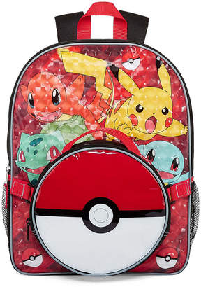 Pokemon LICENSED PROPERTIES Backpack with Lunch Box