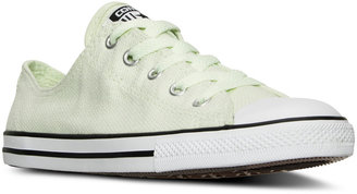 Converse Women's Chuck Taylor Dainty Casual Sneakers from Finish Line $59.99 thestylecure.com