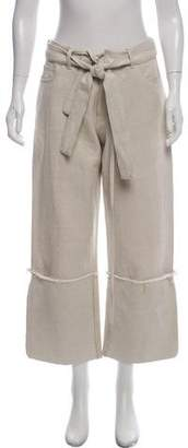 Marques Almeida Marques' Almeida High-Rise Wide-Leg Pants w/ Tags