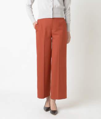 NEWYORKER women's 【ファイナルセール】【店舗限定】ストレッチツイル セミワイドカラーパンツ