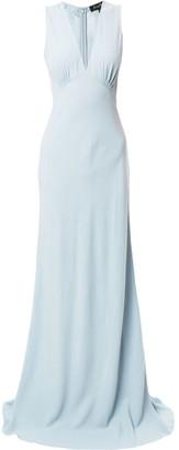 Jenny Packham V-neck slip dress