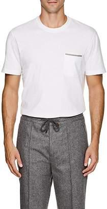 Brunello Cucinelli Men's Cotton Jersey Pocket T-Shirt