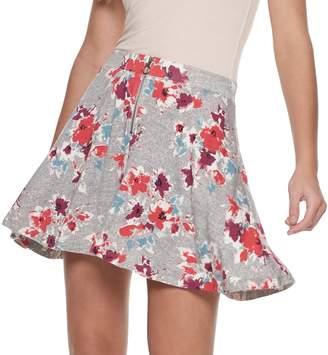 So Juniors' SO Zip-Front Skater Skirt