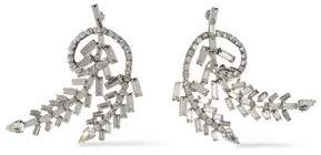 Dannijo Silver-tone Crystal Earrings
