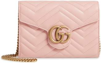 84d267c21e8 at Nordstrom · Gucci GG Marmont Matelasse Leather Wallet on a Chain