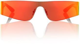 Balenciaga Mono rectangle sunglasses