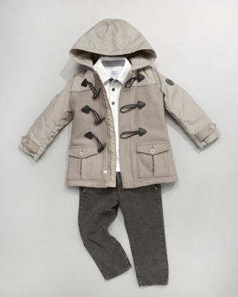 Armani Junior Heavy-Weight Fashion Denim Pants