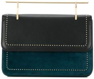 M2Malletier stud detail hand bag