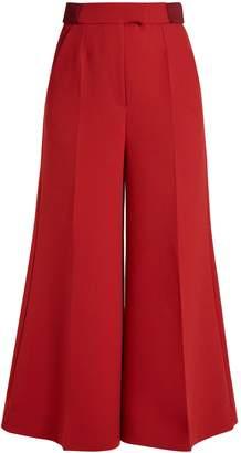 Roksanda Tamako wide-leg cropped trousers