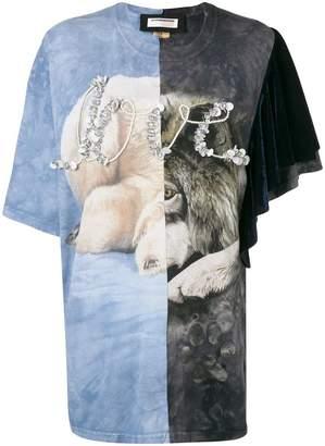 Night Market embellished printed T-shirt