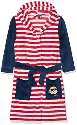 Playshoes Boy's Fleece Bathrobe Pirate Dressing Gown,(Manufacturer Size:134/140)
