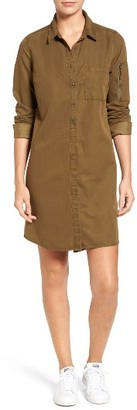 Women's Treasure & Bond Utility Shirtdress $89 thestylecure.com
