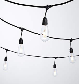 Rejuvenation 24 ST64 LED Filament Bulb String Lights