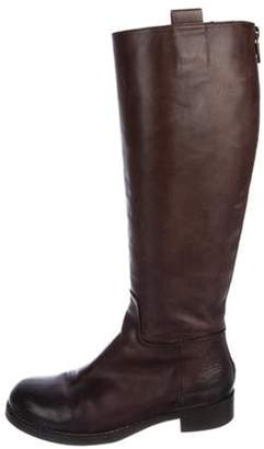 Alberto Fermani Leather Knee-High Boots Leather Knee-High Boots