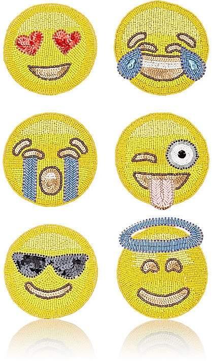 Emoji Coaster Set