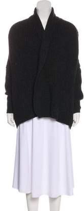 Crippen Merino Wool Open Front Cardigan