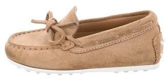 Tod's Boys' Suede Round-Toe Loafers