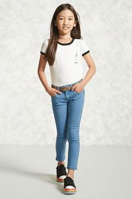 Forever 21 Girls Skinny Jeans (Kids)
