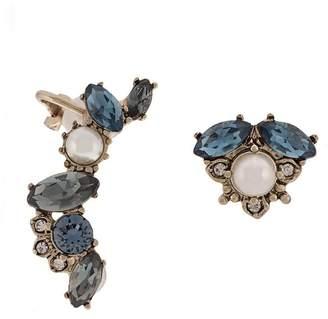 Marchesa crystal ear cuff