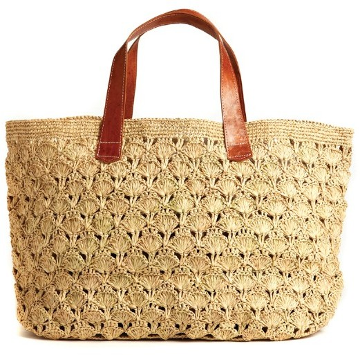 Mar Y Sol Valencia Crocheted Carryall