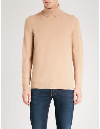 John Smedley Zachary turtleneck wool and cashmere-blend jumper