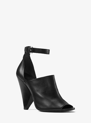 Michael Kors Leona Calf Leather Pump