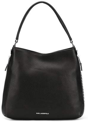 Karl Lagerfeld K/Korat studded tote bag