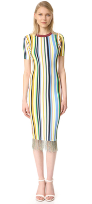 Milly Vertical Stripe Dress $425 thestylecure.com