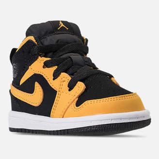 Nike Kids' Toddler Air Jordan 1 Mid Retro Basketball Shoes