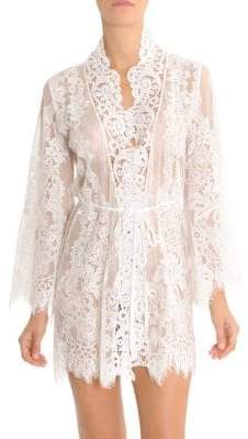 Jonquil Lace Wrapper Robe