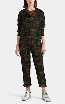 NSF Women's Dita Camouflage-Print Jumpsuit - Green